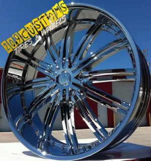 22 inch Red Sport Wheels Rims Tires RSW99 5x115 5x120 13 Offset