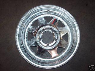 13 Galvanized Spoke Trailer Rim Wheel Tire 5H 20234