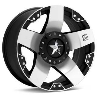 24 8x165 Black Rims Tires Chevy GMC Hummer H2 38 13 50 24 Nitto Trail