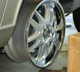 18 inch Drag Extreme Alloy Wheels Rims Chrome Christmas Gift