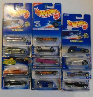 13X Hot Wheels All Caddy – Cadillac Lot