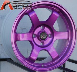 15x7 Rota Grid Wheels 4x100 Rims Fits 4 Lug Acura Integra 1986 2001