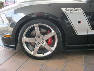 05 13 ROUSH MUSTANG GT V6 20 x 9 5 CHROME WHEELS COMPLETE SET OF FOUR