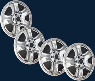 12 13 Honda CR V Chrome Wheel Skins for 16 5 Spoke Steel Rims Part IMP