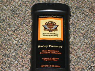 Harley Davidson Preserve Aluminum Protectant Wheels