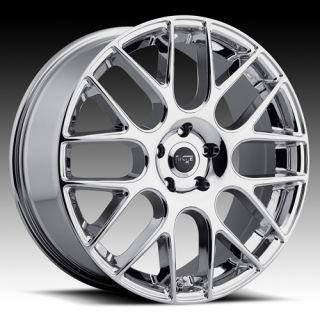 20 x8 5 Niche Circuit Chrome 5 6 Lug Wheels Rims