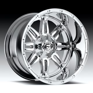 Hostage Wheel Set XD Chrome Fuel Deep Lip Series Hostage Rims