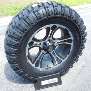 20 XD Crank Wheels 37x13 50x20 Super Swamper M16 Tire GMC Chevy 2500