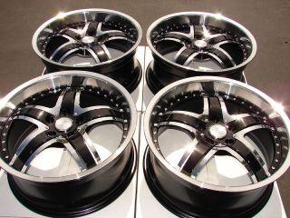 Effect Rims Black Ford Explorer Highlander Rx350 Tacoma Alloy Wheels