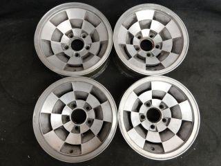 14 RARE Chevy Monte Carlo Factory alloy stock wheels 81 82 83 84 85 86