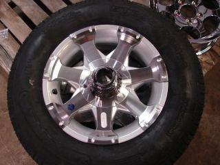14 Boat Utility Stock Aluminum Trailer Wheels Tires