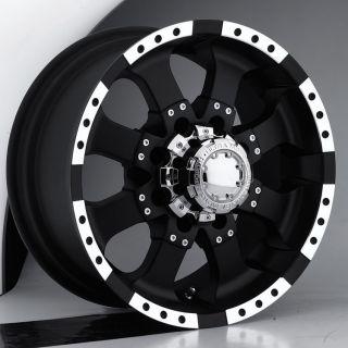 Ultra Wheel 224 24X10 8x6 5 15 Offset Chevy Black