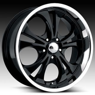 Boss 304 Wheels Rims 20x8 5 5x135 Black