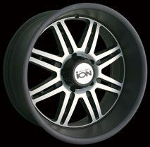 CPP ion 183 Wheels Rims 17x8 Fits Durango Dakota Nissan Frontier