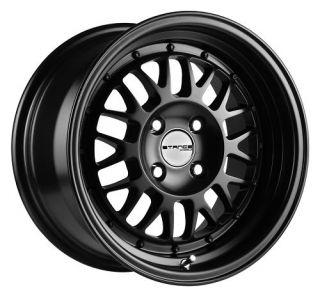 16 Stance Mindset Black Rims Wheels 16x8 26 4x100 BMW 2002 E30 Scion
