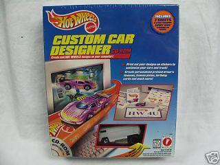 Hot Wheels Custom Car Designer with Car