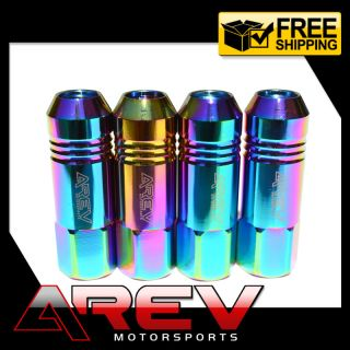 Aluminum Racing Tuner Lugnuts 12x1 25 for Wheels Rims JDM