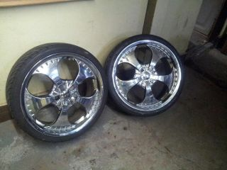Truck 18 inch rims and tires on popscreen