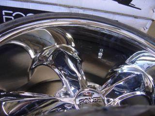 17 FOOSE Legend Wheels Chrome Set of Four New w Caps