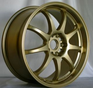 Rota P1 18x8 5x114 3 ET48 56 1 Hub Gold Rims Wheels