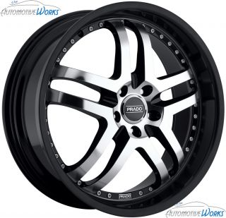 Dante 5x114 3 5x4 5 25mm Black Machined Wheels Rims inch 18