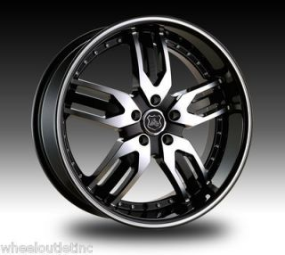 Wheels 125 Black Rims Tire Charger Magnum 300C Challenger Towncar 24