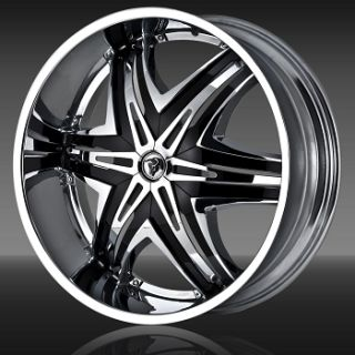 Wheels Elite Chrome Rims Escalade H2 Yukon Silverado Donk 26 28 24