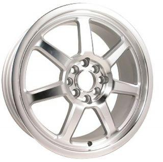 18 ADR28 Silver Wheels Rims Acura Neon Honda Civic Hyundai Nissan