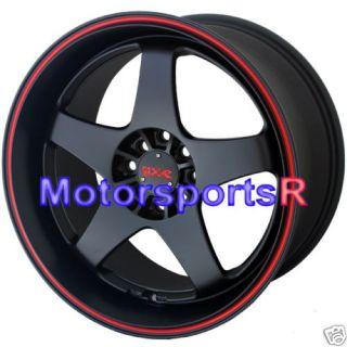 18 XXR 962 Black Staggered Rims Nissan 240sx s14 98 94