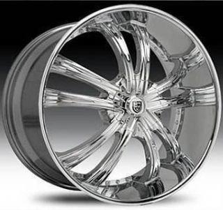 30 Lexani Wheels LSS 55 Rim Tire Delta 88 Caprice Donk