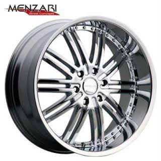 26 inch Menzari Vim Chrome Wheels Rims 6x135 Ford F150