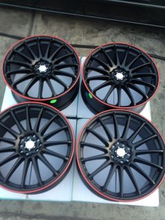 4x114 3 Black Wheels Civic Accord Yaris Tiburon Lancer Cobalt Rims