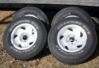 2001 Ford F 150 Stock Rims Tires P265 70 R17