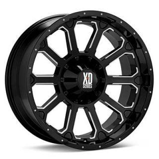 18 inch 18x9 KMC XD Black Wheels Rim 5x150 Toyota Tundra Sequoia Lexis