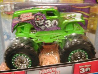 HOT WHEELS MONSTER JAM 2012 SPECTRAFLAME 30TH ANNIVERSARY EDITION