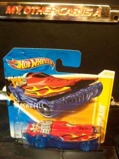 Hot Wheels 2012 FE 29 247 3 Mad Splash Red Blu Ba in SC