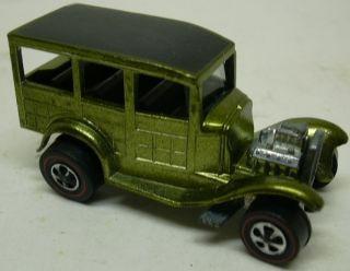 vintage 1968 Mattel Hot Wheels Redline Classic 31 Ford Woody