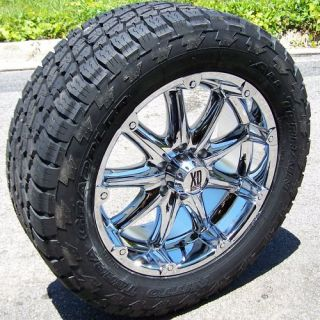 20 XD Badlands Wheels Rims 33 Nitto Terra Grappler Tires Dodge Chevy