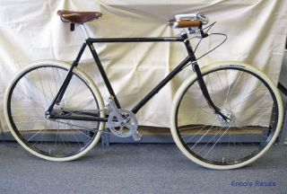 GUVNor Mens Bicycle Single Speed 22 5 Frame 28 Wheels Black