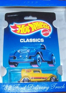 Hot Wheels 30th Anniversary 32 Ford Delivery Truck Unopened in Orig