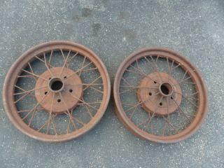 1928 29 Ford Model A Wire Spoke Wheels
