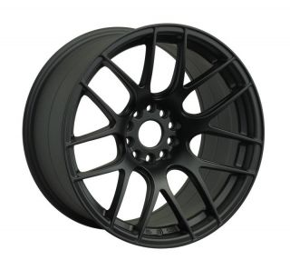 16 XXR 530 BLACK RIMS WHEELS 16x8 +20 4x100 MAZDA MIATA SCION XB BMW