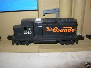 Hotwheels Railroad / Train Rio Grande Engine