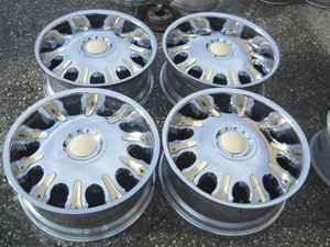 22 Status Chrome Alloy Wheel Rim Set Fits Tahoe 6 Lug