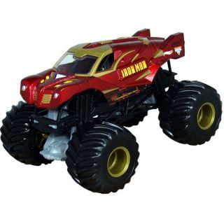 Hot Wheels 1 24 Scale Iron Man Monster Jam