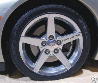 Corvette Wheel Rim Decals