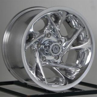 15 Inch Chrome Wheels Rims Nissan Toyota Isuzu Truck Chevy GM Truck