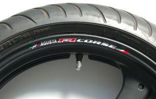 MV Agusta F4 Corse Wheel Rim Decals 750 1000 1078RR R