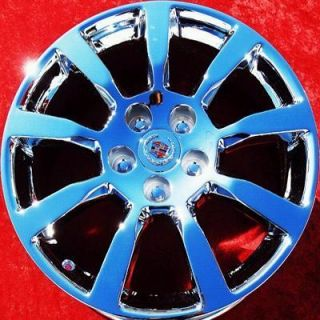 OF 4 NEW 18 CADILLAC CTS FACTORY OEM CHROME WHEELS RIMS EXCHANGE 4627