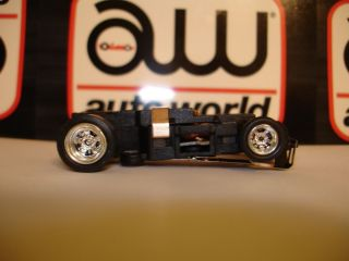 World 4 Gear Ultra G Chassis with Chrome Rims Also Fits AFX AW